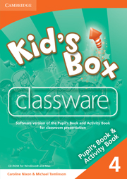 Kid's Box 4 Classware CD-ROM
