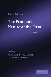 The Economic Nature of the Firm