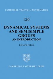 Dynamical Systems and Semisimple Groups