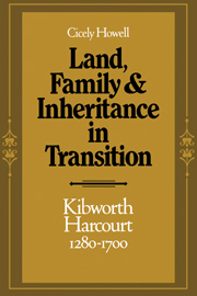 Land, Family and Inheritance in Transition