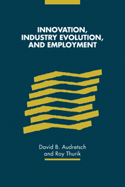 Innovation, Industry Evolution and Employment