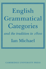 English Grammatical Categories