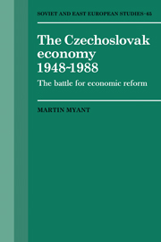 The Czechoslovak Economy 1948–1988