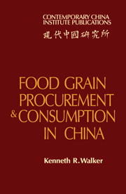 Food Grain Procurement and Consumption in China