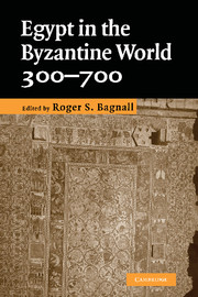 Egypt in the Byzantine World, 300–700