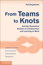 From Teams to Knots
