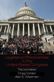 Legislative Effectiveness in the United States Congress