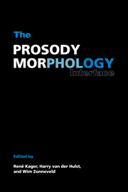 The Prosody-Morphology Interface