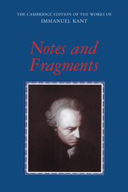 Notes and Fragments