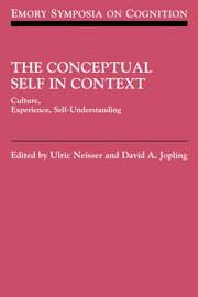 The Conceptual Self in Context