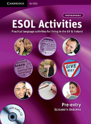 ESOL Activities Pre-entry