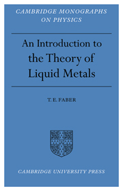 Introduction to the Theory of Liquid Metals