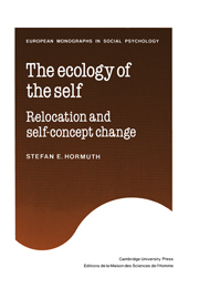 The Ecology of the Self