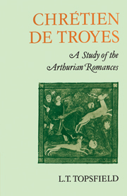 Chrétien de Troyes: A Study of the Arthurian Romances
