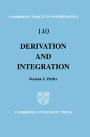 Derivation and Integration