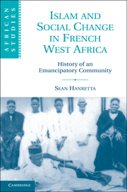 Islam and Social Change in French West Africa