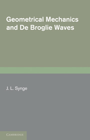 Geometrical Mechanics and De Broglie Waves