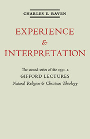 Natural Religion and Christian Theology