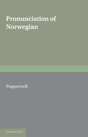 Pronunciation of Norwegian