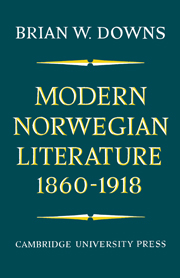 Modern Norwegian Literature 1860–1918
