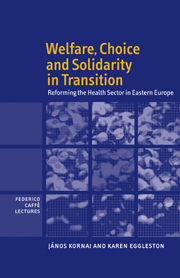 Welfare, Choice and Solidarity in Transition
