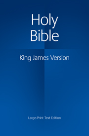 KJV Large Print Text Bible, KJ650:T