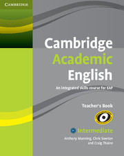 Cambridge Academic English B1+ Intermediate