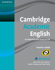 Cambridge Academic English C1 Advanced