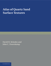 Atlas of Quartz Sand Surface Textures