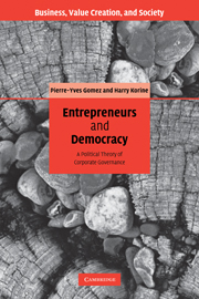 Entrepreneurs and Democracy