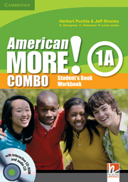 American More! Level 1 Combo A with Audio CD/CD-ROM