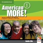 American More! Level 1 Class Audio CDs (2)