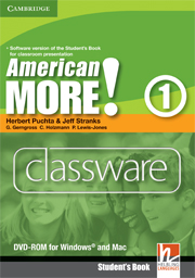 American More! Level 1 Classware DVD-ROM