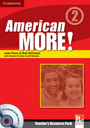 American More! Level 2 Teacher's Resource Pack with Testbuilder CD-ROM/Audio CD
