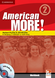 American More! Level 2 Workbook with Audio CD