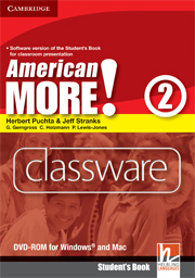 American More! Level 2 Classware DVD-ROM