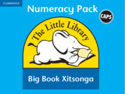 Little Library Numeracy Big Book Pack (Xitsonga)