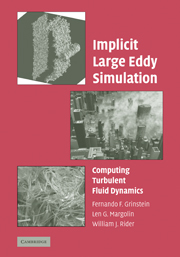 Implicit Large Eddy Simulation