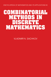 Combinatorial Methods in Discrete Mathematics