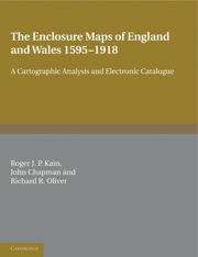 The Enclosure Maps of England and Wales 1595–1918