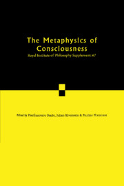 The Metaphysics of Consciousness