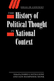The History of Political Thought in National Context