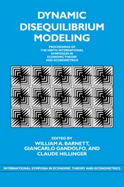 Dynamic Disequilibrium Modeling: Theory and Applications