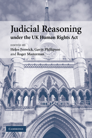 Judicial Reasoning under the UK Human Rights Act
