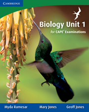 Biology for CAPE Examinations Unit 1