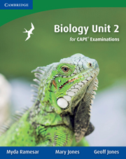 Biology Unit 2 for CAPE Examinations