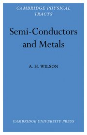 Semi-Conductors and Metals