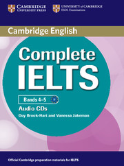 Complete IELTS Bands 4-5 Class Audio CDs (2)