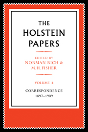 The Holstein Papers