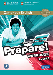 Cambridge English Prepare! Level 3 Workbook with Audio